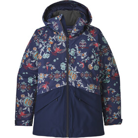 Patagonia Insulated Snowbelle Jacket Dam village byrd: navy blue